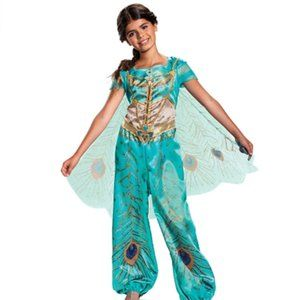 Girls Princess Jasmine Costume Gril 12-14